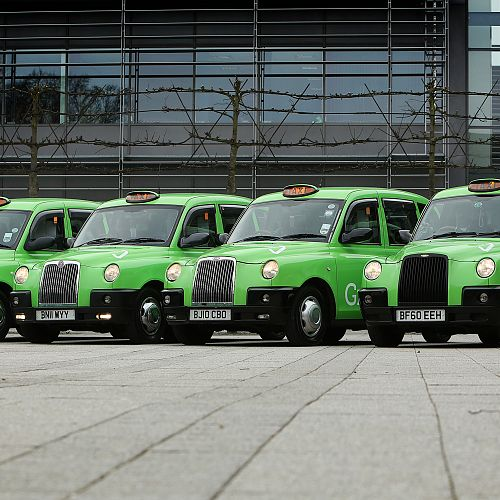 Greenpark taxi campaign – Reading