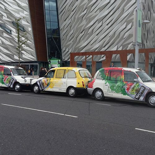 Magners taxi campaign – Belfast
