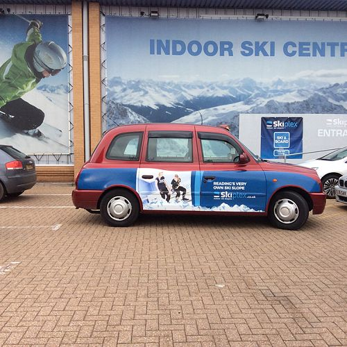 Skiplex taxi campaign – Reading
