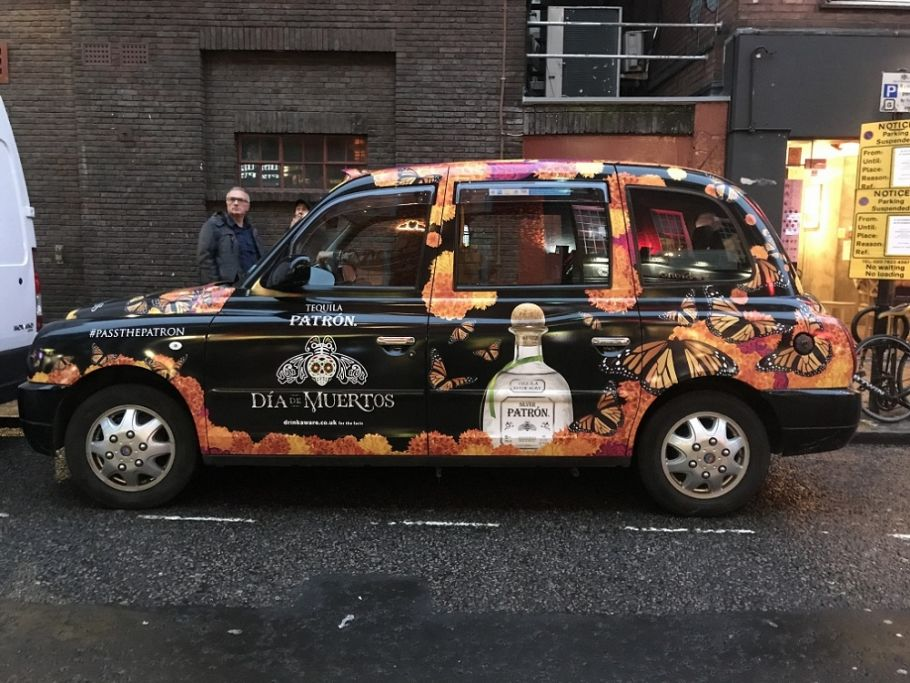 London campaign for Patron Tequila