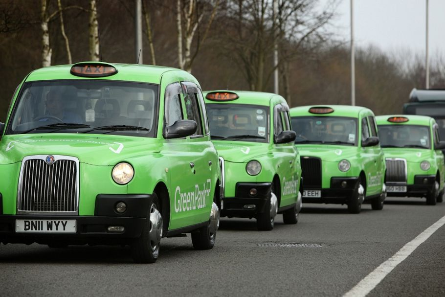 """Reading wouldn't be Reading without the Green Park taxis!"""